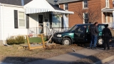 Man arrested after crashing vehicle into Quincy home Saturday