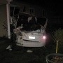 Linn County deputies: Driver crashed vehicle through yard, into power pole and house