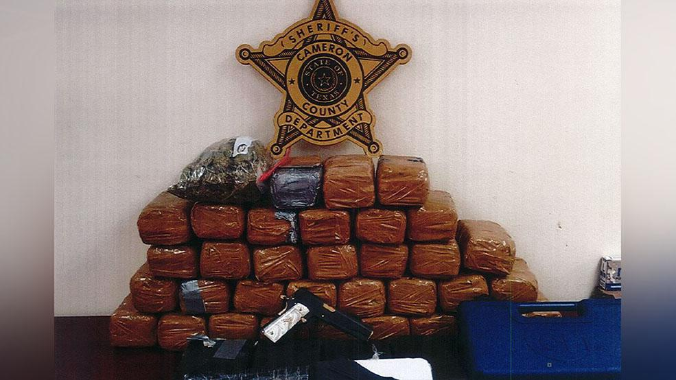 The Cameron County Sheriff's Office seized more than 86 pounds of narcotics on Wednesday, according to Sheriff Omar Lucio. (Photo courtesy of the Cameron County Sheriff's Office)<p></p>
