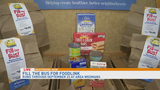 """Fill the Bus"" campaign underway at Wegmans, helps feed the hungry"