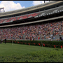 "Spectators enjoy ""Total Eclipse"" at UGA's Sanford Stadium"