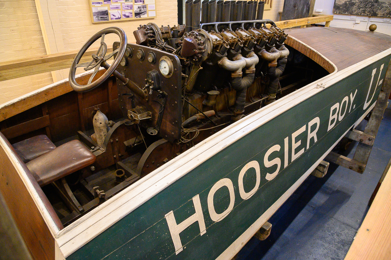 The Hoosier Boy sat two people: Whitlock at the helm and an oiler to assist with keeping the engine running. / Image: Phil Armstrong, Cincinnati Refined // Published: 1.7.20<p></p>