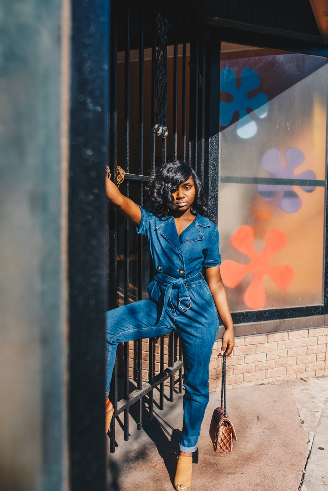 Chanel was inspired to carry all sorts of extended sizing options due to her sister's difficulties finding shoes when they were young. Today, she makes it a priority to carry options for women of all sizes. / Image: Catherine Viox // Published: 4.1.19