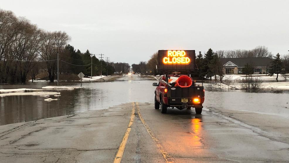 Surveying East River flooding in Bellevue