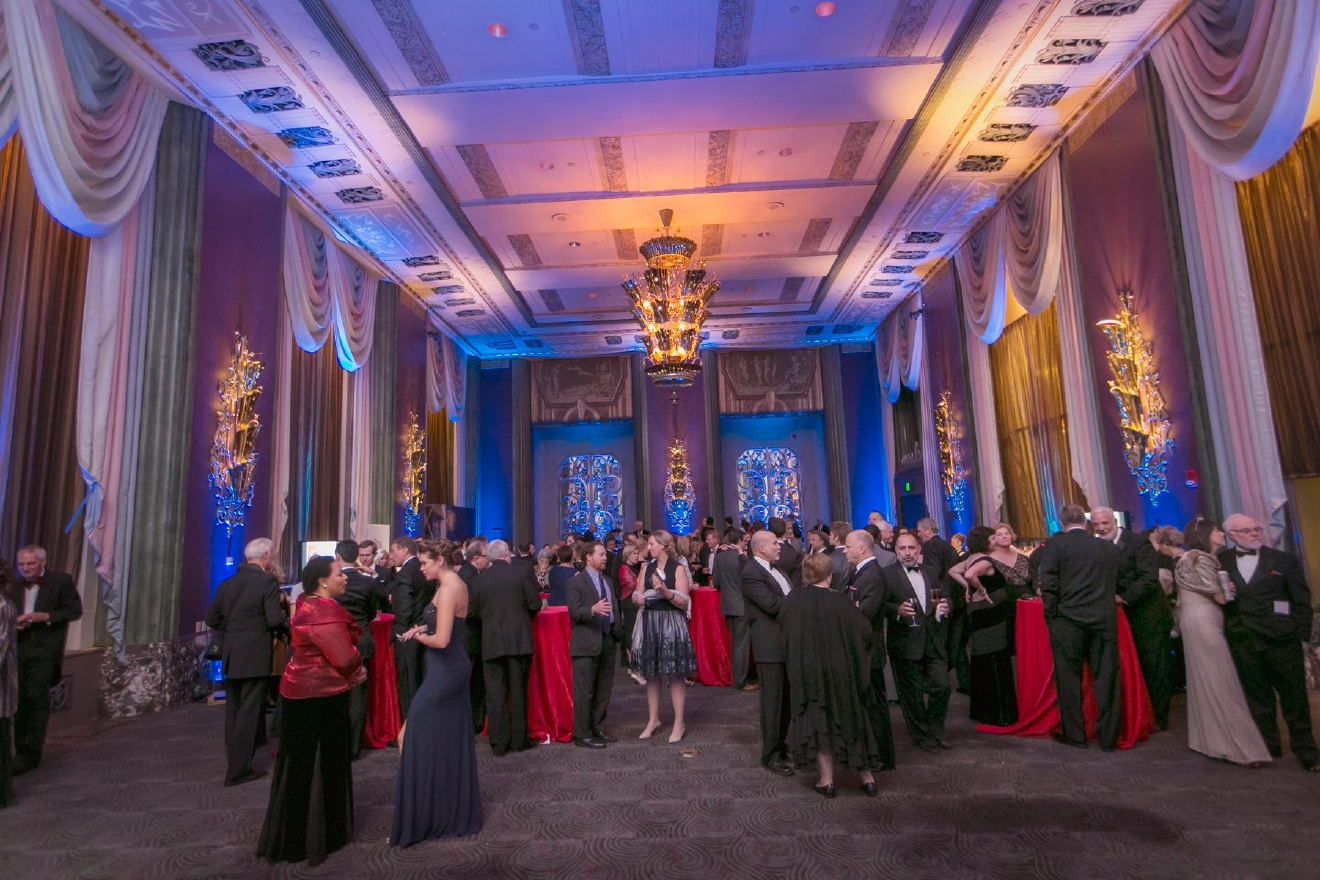 "The 2016 Cincinnati Opera Gala (""C'est La Vie"") took place on Saturday, Nov. 12 at the Hall of Mirrors inside the Hilton Netherland Plaza downtown. / Image: Mike Bresnen Photography"