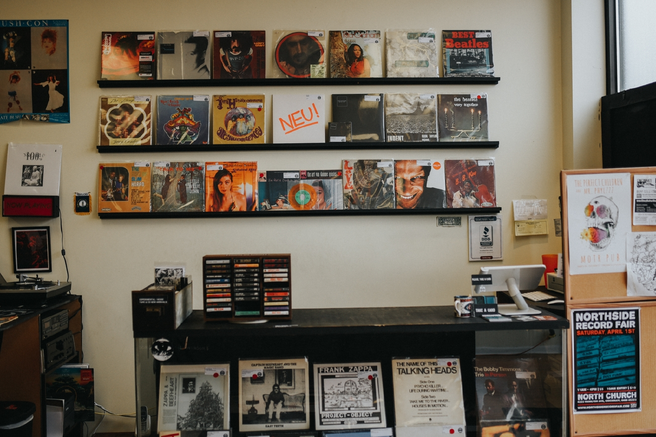Torn Light Records ditches digital age audio and offers vinyl records, cassette tapes, and CDs. They have a huge selection of 45s, and they sell record players & other audio equipment as well. ADDRESS: 406 Fairfield Ave, Bellevue, KY 41073 / Image: Brianna Long // Published: 4.18.17