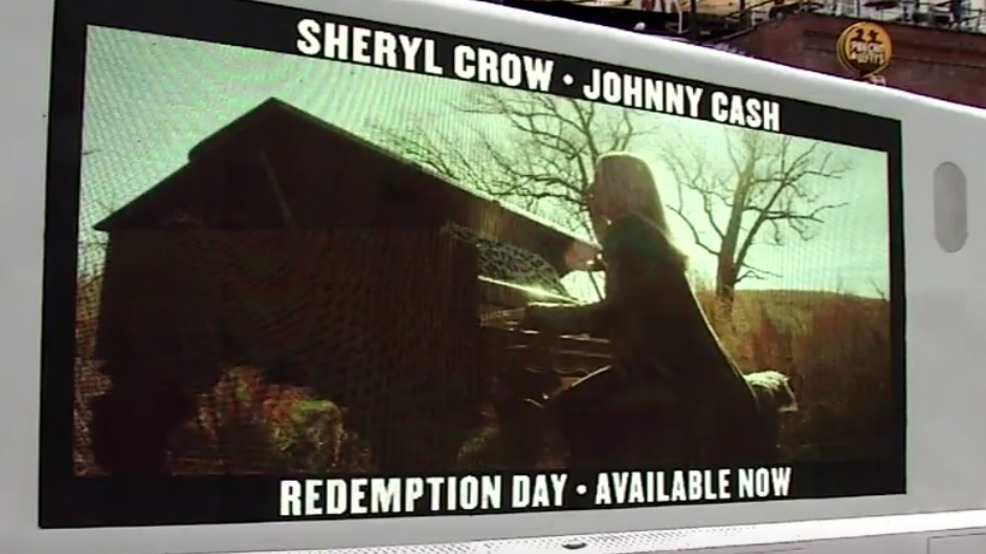 Sheryl Crow releases new single featuring the late Johnny Cash