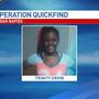 Operation Quickfind CANCELLED: Trinity Ervin