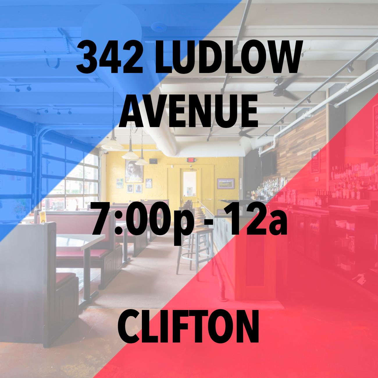 PLACE: The Ludlow Garage in Clifton / ADDRESS: 342 Ludlow Avenue (45220) / TIME: 7 PM to Close / Image: Sherry Lachelle Photography // Published: 11.6.18