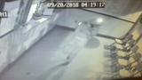 VIDEO: Burglar throws large object at bulletproof glass, hits himself in head in Suitland