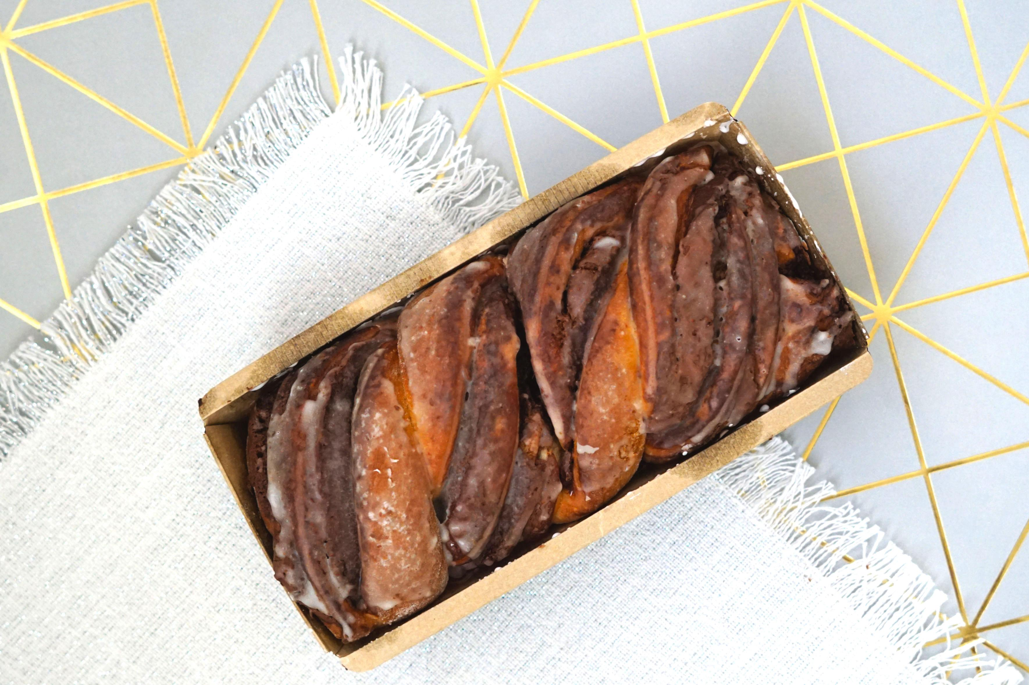 Nutella Babka from Buzz Bakeshop { }// Price: $17 // Buy in store or online // https://buzzbakeshop.com/ // (Image: Rose Collins)