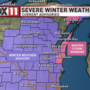 Severe Winter Weather Advisories and Warnings