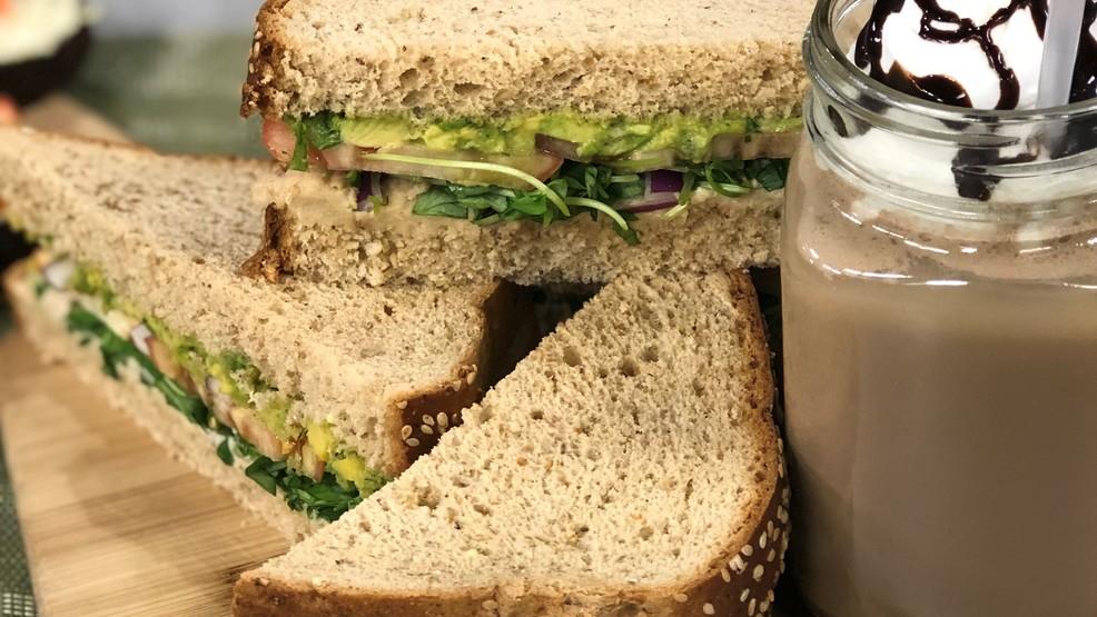 Smashed White Bean & Avocado Sandwich