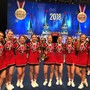 Local high school cheerleading squad one of the best in the nation