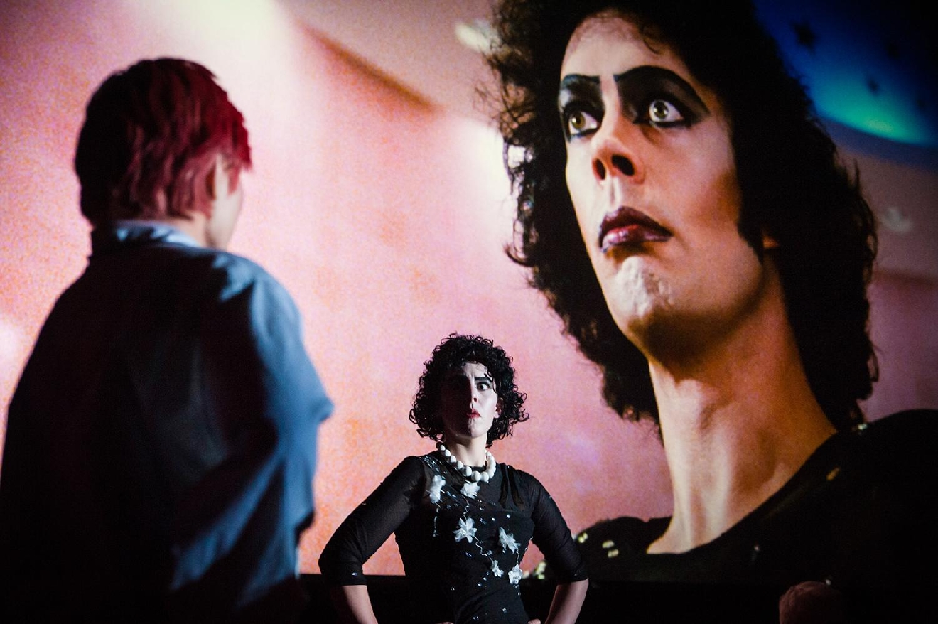 Columbia and Dr. Frankenfurter are not seeing eye to eye. / Image: Melissa Doss Sliney