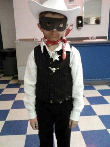 Jaylen as the Lone Ranger