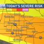 Strong storms, flooding possible this afternoon  and evening