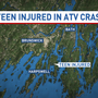 Teen seriously injured in Harpswell ATV crash