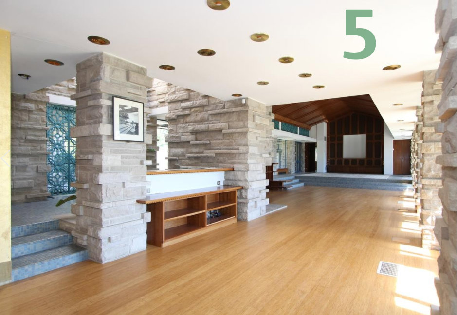 #5 - This home on Grandin Rd. in Hyde Park is a) for sale; and b) inspired by Frank Lloyd Wright architecture. Get all the deets in the Arts & Design section. / Image courtesy of Sibcy Cline Realtors