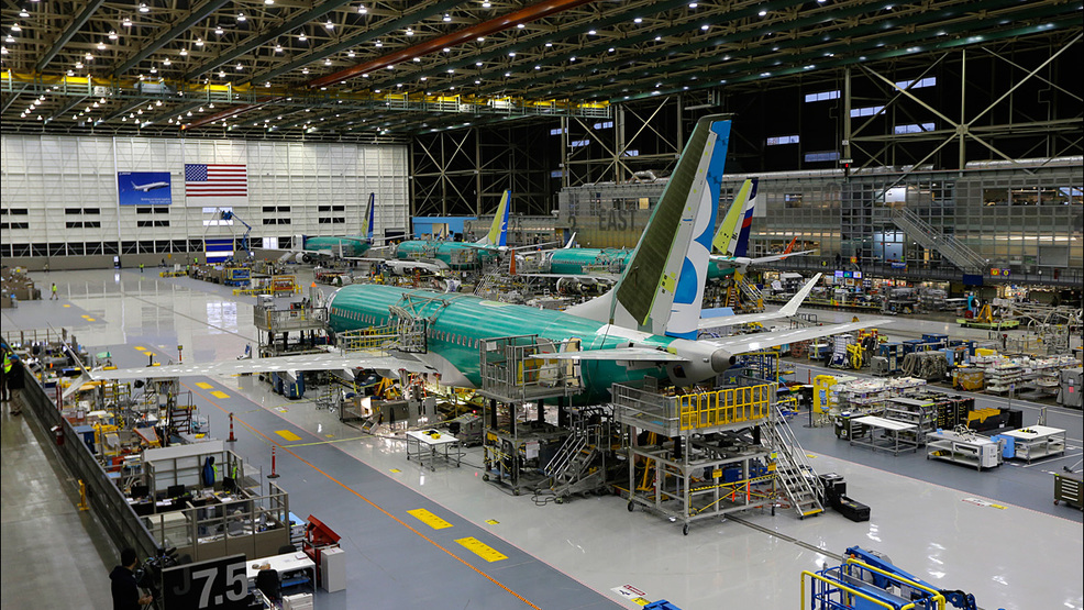 Boeing Says 2017 Aircraft Deliveries Set An All Time