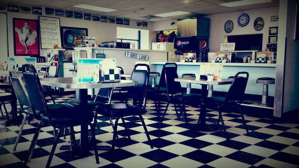 The interior of the Winston Diner & Drive Thru, June 15, 2017. (Photo courtesy Winston Diner & Drive Thru)