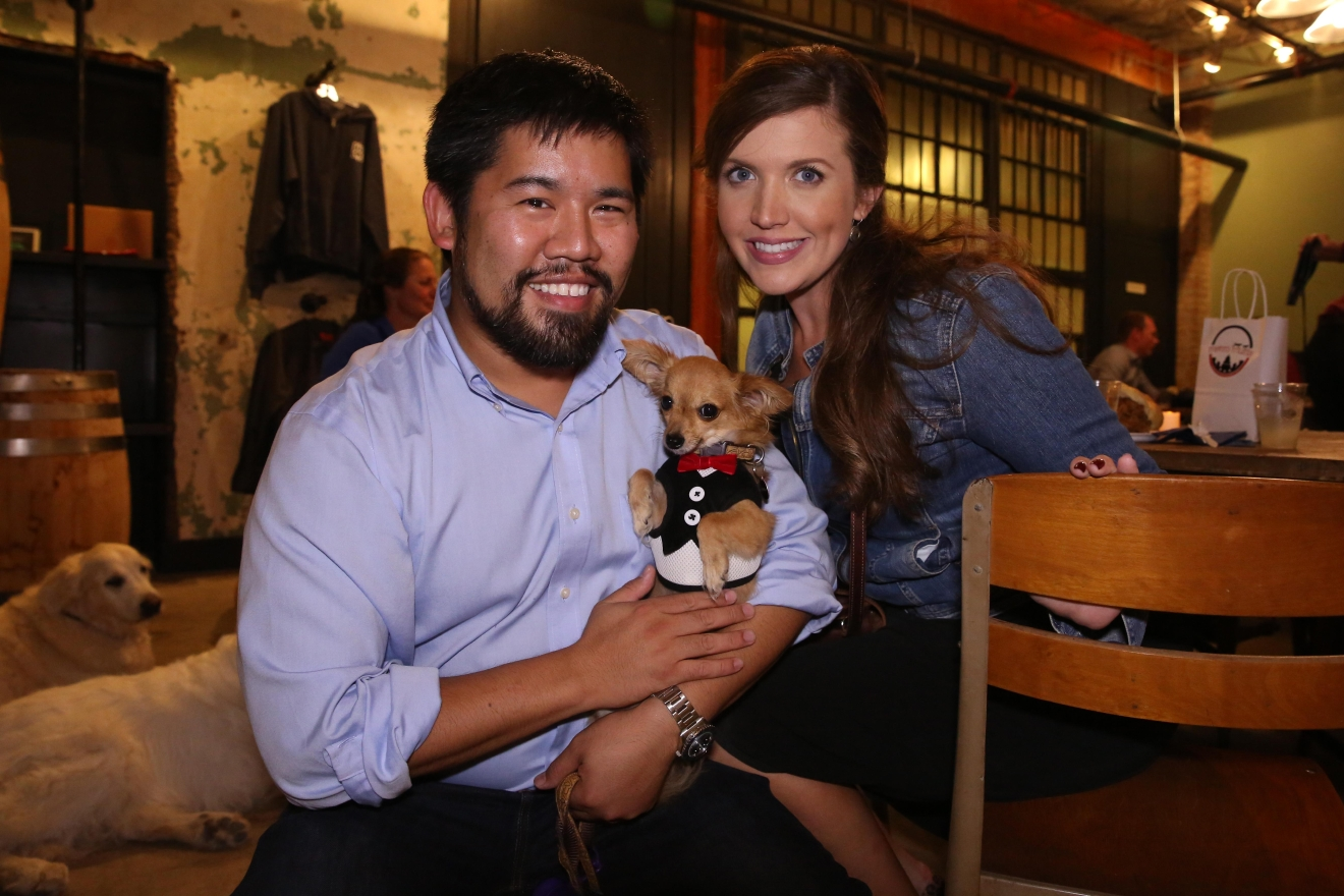 One Eight distillery hosted 'Whiskers and Whiskey' on Sept. 28, which featured locally made booze and gourmet bites in a pet-friendly setting. The proceeds benefitted the Washington Humane Society-Washington Animal Rescue League. (Amanda Andrade-Rhoades/DC Refined)