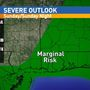 Severe weather threat on Sunday