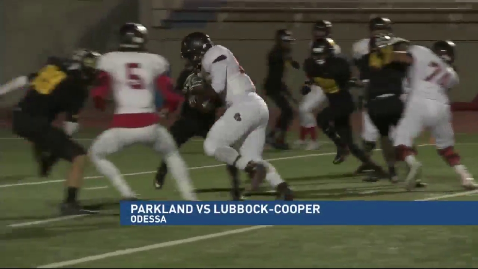 Playoff Highlights: Parkland vs Lubbock-Cooper