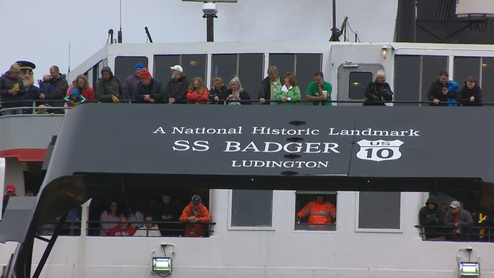 S.S. Badger sets sail for the first time this season follow completion of new dock