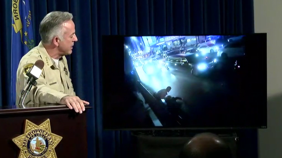 Sheriff Addresses Incident Between Las Vegas Police And