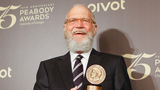 No joke: TV host Letterman honored with Mark Twain Prize at Kennedy Center in D.C.