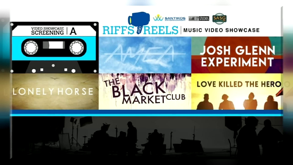 Tickets on sale for inaugural 39 riffs reels music video for Showcase motors san antonio