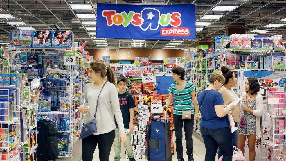 25 2016 File Photo Shoppers Shop In A Toys R Us Store On Black Friday Miami The Pioneering Big Box Toy Retailer