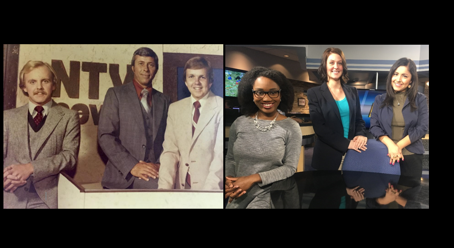 Promotional photo from the 1980's - 2017 NTV Staff.