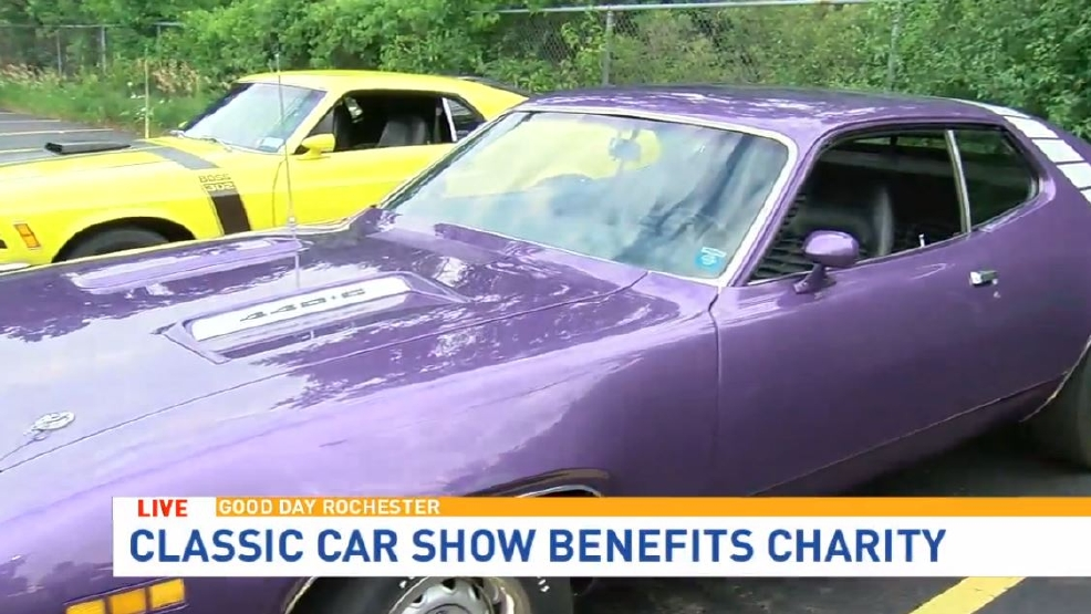 Lewis General Tires Hosts Classics Car Show WUHF - Rochester car show